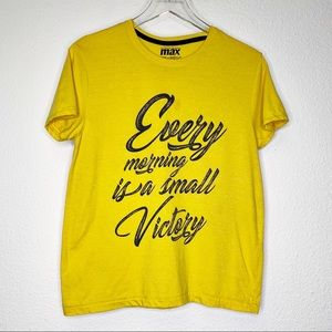 Tops - Every Morning is a Small Victory Short Sleeve Tee